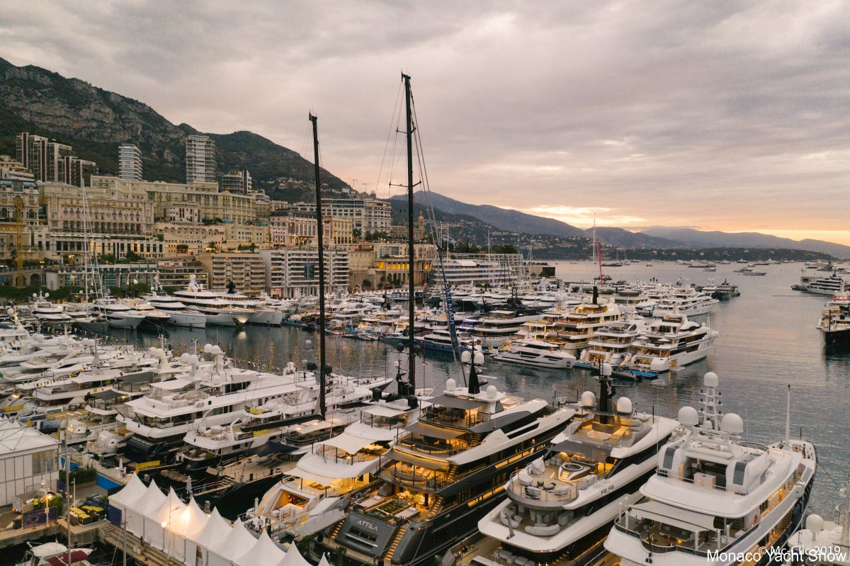 RMK Marine at the Monaco Yacht Show 2019